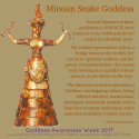 Minoan Snake Goddess from Crete, Ancient Goddess © Wicca-Spirituality.com