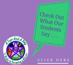 More Student Testimonials   © Wicca-Spirituality.com