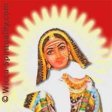Akhilandeshvari, the Goddess Never-Not-Broken © wicca-spirituality.com