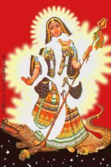 Akhilandeshvari — The Goddess Never-Not-Broken © wicca-spirituality.com