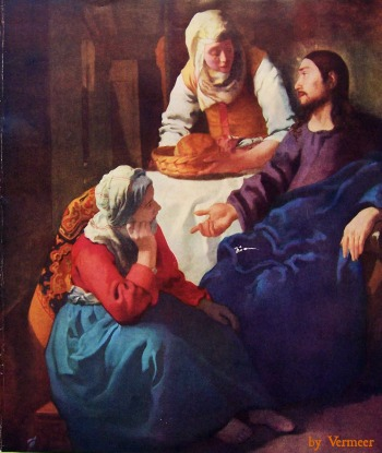 Jesus with Mary and Martha — Wicca-Spirituality.com