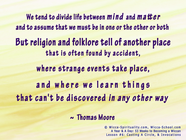 Religion & folklore tell of another place... © Wicca-Spirituality.com