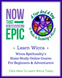 A Year And A Day: 53 Weeks to Becoming a Wiccan  © wicca-spirituality.com