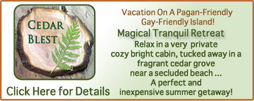 Denman Island Vacation Home Rental Cabin - Click Here for Details