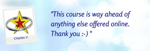 This course is way ahead of anything else offered online - Charles V  © Wicca-Spirituality.com