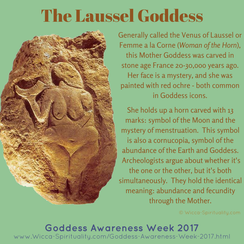 Venus-of-Laussel, Goddess in Prehistory © Wicca-Spirituality.com