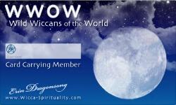 Wild Wiccans ID Card © Wicca-Spirituality.com