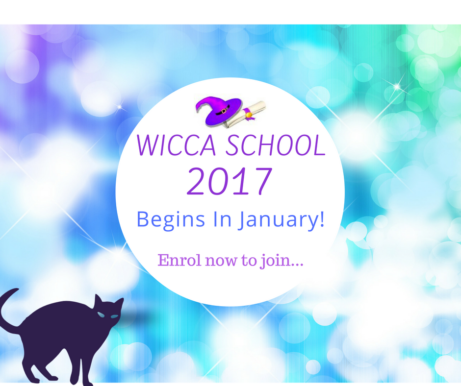A Year & A Day: 53 Weeks to Becoming a Wiccan -- 2017 Class Begins Jan 6th  © wicca-spirituality.com