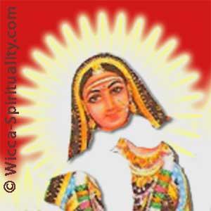Akhilandeshvari: the Goddess Never-Not-Broken © Wicca-Spirituality.com