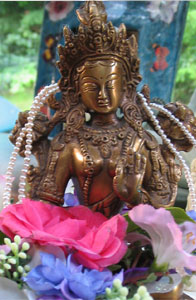 Decorated Tara © Wicca-Spirituality.com