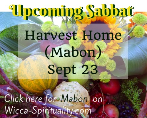 "©Wicca Spirituality - Harvest Home Articles Button""></a>   </TD> </TR> <TR> <TD> &nbsp; <br> <br clear="