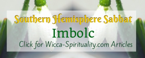 "©Wicca Spirituality - Imbolc/Brighid Articles Button""></a>   </TD> </TR> <TR> <TD> &nbsp; <br> <br clear="