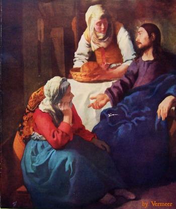 Jesus with Mary and Martha — Wicca-Spirituality.com