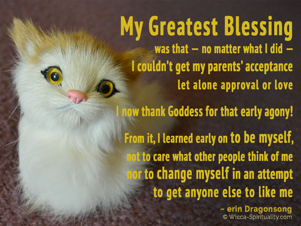 My Greatest Blessing © Wicca-Spirituality.com
