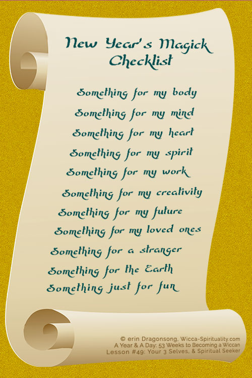 Something for my body, something for my mind, something for my heart.... © Wicca-Spirituality.com