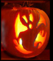 wicca-spirituality Samhain Halloween Pumpkin Ghost