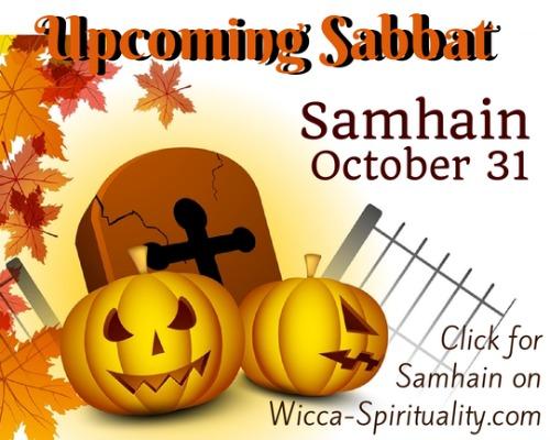"©Wicca Spirituality - Samhain Articles Button""></a>   </TD> </TR> <TR> <TD> &nbsp; <br> <br clear="