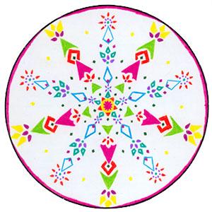 wicca-spirituality Snowflake Mandala