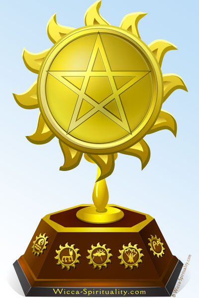 Let's Have a Contest! prize trophy © Wicca-Spirituality.com