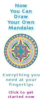 wicca-spirituality Teal Mandala Ad