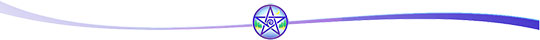 Wicca Spirituality Nature-Pentacle Divider Bar: Go to Related Articles links at bottom of this Wicca Spirituality page