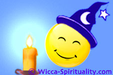 Witch Candle Meditation  © Wicca-Spirituality.com