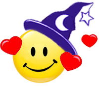 Wicca Spirituality - Witch Love Smilie © > <BR clear=
