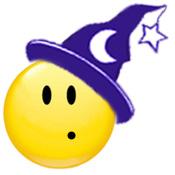 Wicca-School Winking Witch © Wicca-Spirituality.com