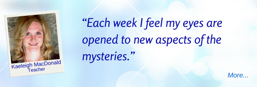 Each week I feel my eyes are opened to new aspects of the mysteries - KM © Wicca-Spirituality.com
