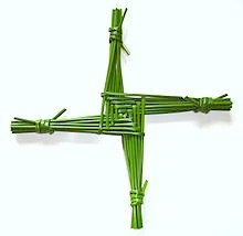 Brigid's Cross / Eye of Bridgid© Wicca-Spirituality.com