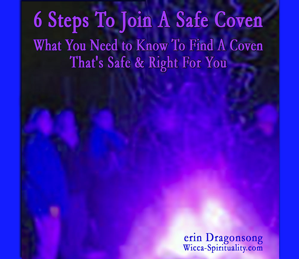 6 Steps to Join a Safe Coven (free ebook)