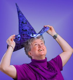 wicca-spirituality Putting On Witch Hat - Magick Ritual