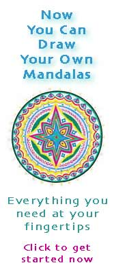 wicca-spirituality Teal Star Mandala Starter Kit