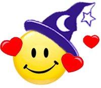 Witch Love Smilie  ©  Wicca Spirituality