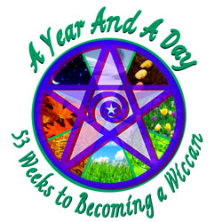 A Year & A Day: 53 Weeks to Becoming a Wiccan © Wicca-Spirituality.com