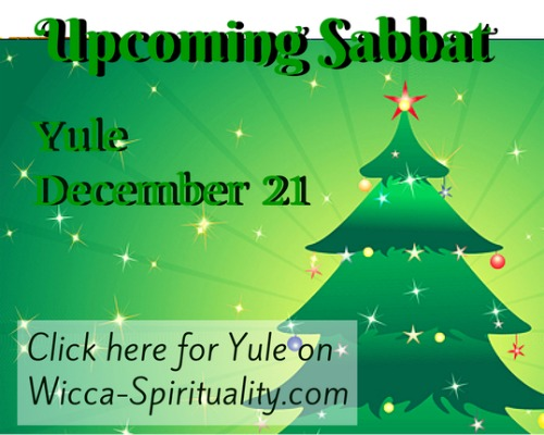 "©Wicca Spirituality - Yule Articles Button""></a>   </TD> </TR> <TR> <TD> &nbsp; <br> <br clear="